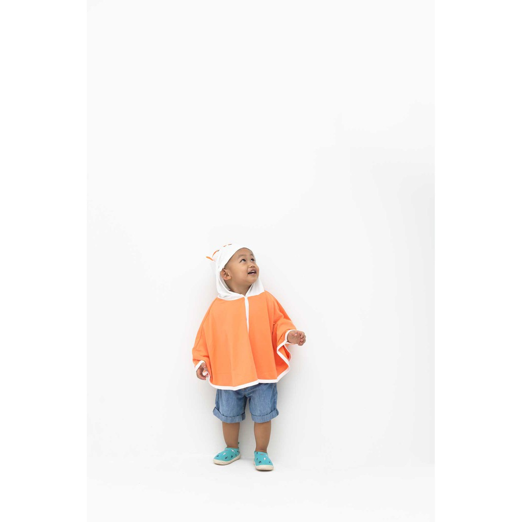 Áo choàng tránh gió, tránh nắng trẻ em cho bé từ 7 đến 19kg