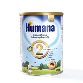 Sữa Humana gold 2 800gr dành cho trẻ từ 6-12 tháng tuổi