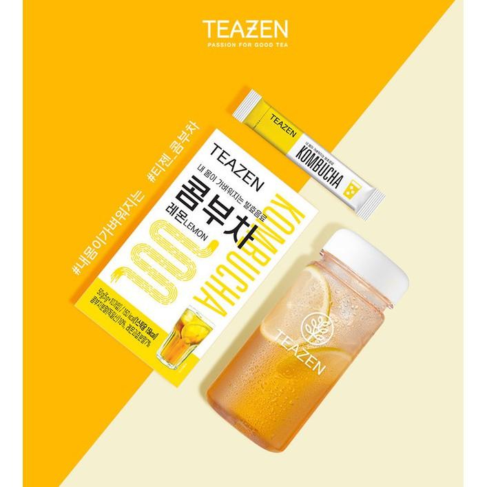 Trà Teazen kombucha thanh nhiệt, giữ dáng cải thiện sức khỏe của Hàn Quốc