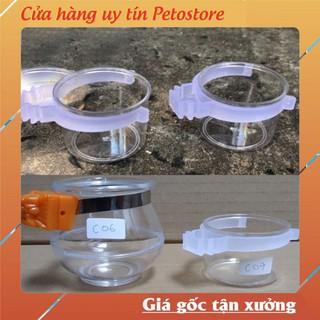 cóng nhựa quai trắng dành cho chim giá rẻ PK08 thumbnail