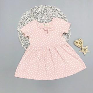 Váy Thun Nơ Bé Gái, Size 6-10, Hàng Made In Vn, Chất Cotton Xuất Dư Đẹp, Nhiều Màu Sắc Cho Bé Lựa Chọn