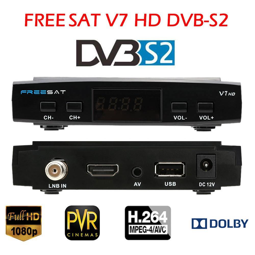 Bộ nhận tín hiệu truyền hình kỹ thuật số HD DVB-S2 TV chỉ