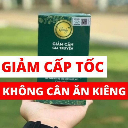 Thảo mộc giảm cân Cenly Hộp Xanh - Giảm Nhanh - Giảm Mạnh