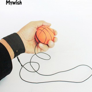 🏆Bouncy Wrist Band Rubber Ball Elastic String Rebound Finger Exercise New Toy