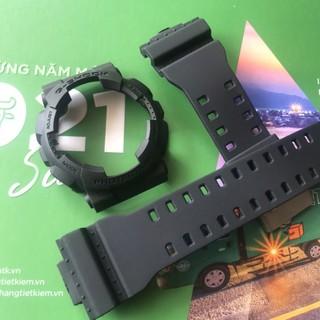 [Mã FAMAYFA2 giảm 10K đơn 50K] Bộ dây và vỏ đồng hồ dành cho G shock GA 100, GA110, GA120