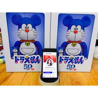 Gấu bụng phệ Bearbrick Doraemon 400%+100%