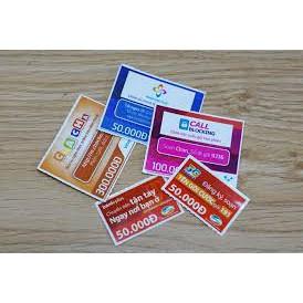 Mã thẻ Viettel, Mobi, Vina, Vietnamobile, Gmobile 20K, 50K, 100K