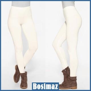 Quần Legging Nữ Bosimaz MS012 dài không túi màu trắng cao cấp, thun co giãn 4 chiều, vải đẹp dày, thoáng mát. thumbnail
