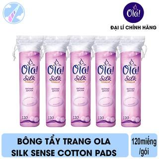 Bông Tẩy Trang Ola Silk Sense Cotton Pads 120 Miếng thumbnail