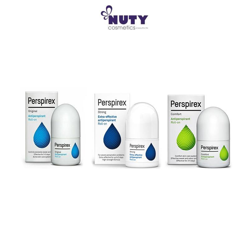 Lăn Khử Mùi Đặc Trị Cao Cấp Perspirex Antiperspirant Roll On (20ml)
