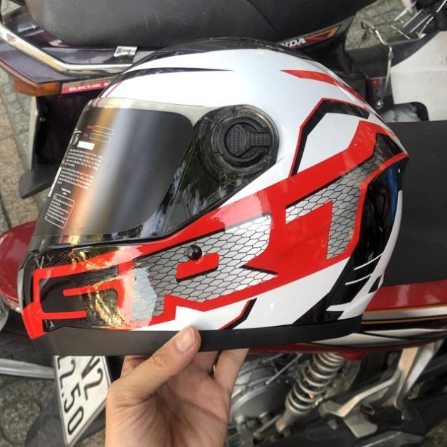 Nón fullface asia Mt136 SRT Đỏ