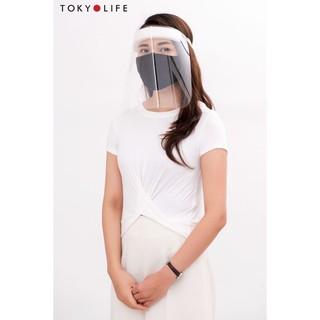 Kính mặt chống giọt bắn cứng TOKYOLIFE bảo vệ mọi người trước đại dịch 2