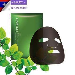 Hình ảnh Hộp 8 miếng mặt nạ kiểm soát dầu và mụn trà tràm Naruko Tea Tree 26ml/m (Bản Đài)-2