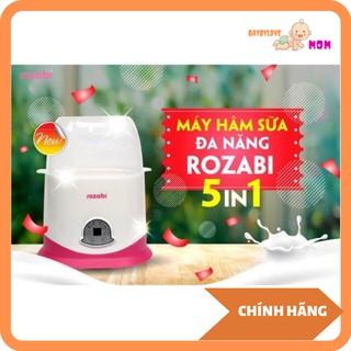 Máy hâm sữa tiệt trùng cảm ứng 5 chức năng Rozabi