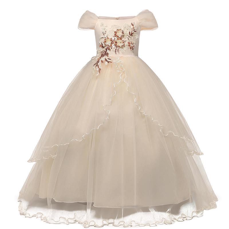 Đầm công chúa NNJXD thiết kế ôm eo thời trang cho bé gái