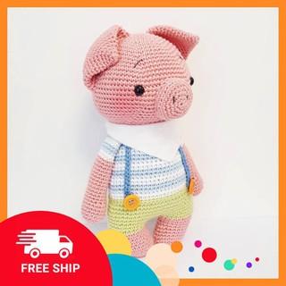[FREESHIP] [Xả Hàng] Lợn Hồng Baby – Sản phẩm handmade – Đồ chơi trẻ em – Vật trang trí
