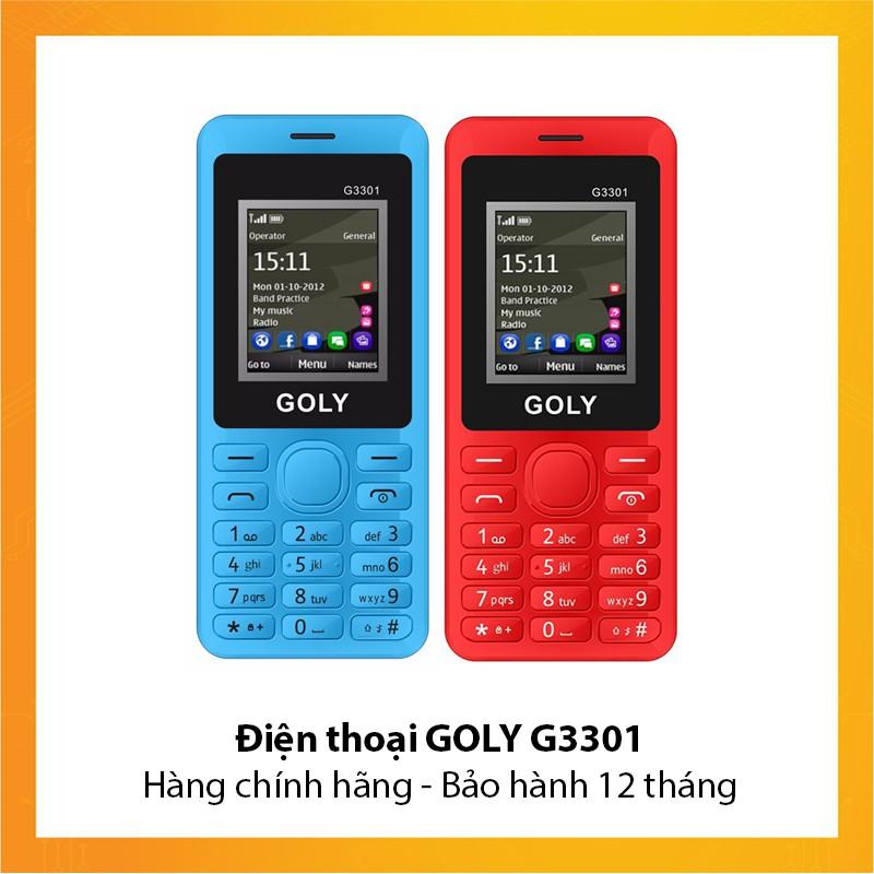 Điện thoại GOLY G3301 - Hàng chính hãng - Bảo hành 12 tháng - 3148347 , 1150293701 , 322_1150293701 , 360000 , Dien-thoai-GOLY-G3301-Hang-chinh-hang-Bao-hanh-12-thang-322_1150293701 , shopee.vn , Điện thoại GOLY G3301 - Hàng chính hãng - Bảo hành 12 tháng