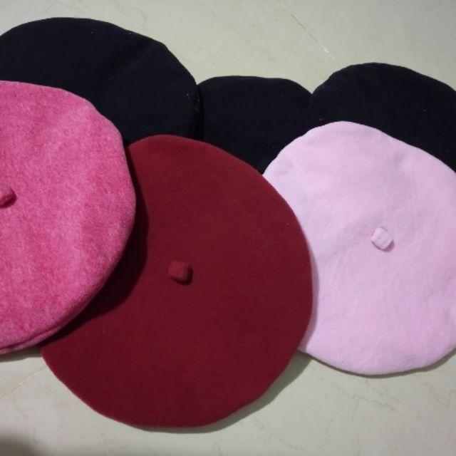 Mũ nồi .mũ dùng 2 mặt 2 màu để thay đổi .29k /chiếc