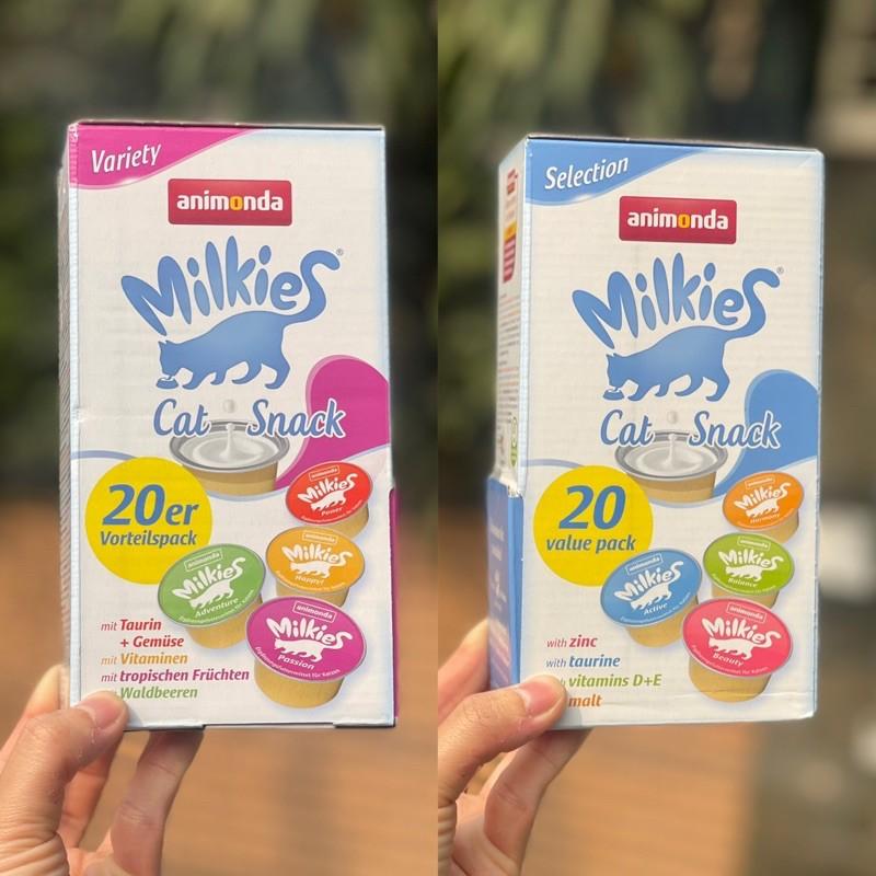 Hộp ăn vặt vị sữa cho mèo - Animonda Milkies