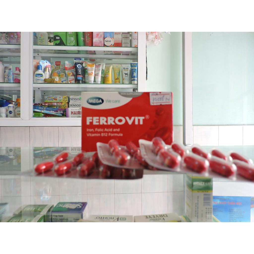 BỔ SUNG SẮT FERROVIT
