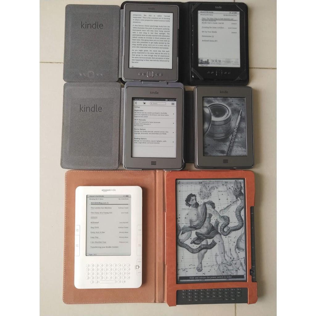 Máy đọc sách Kindle dòng cũ (2nd, 3th, 4th & 5th Gen, Kindle Touch)