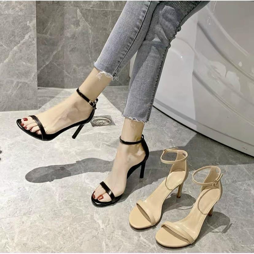 FREESHIP Sandal cao gót nhọn 9p / Giày cao gót nữ 9p form chuẩn full box