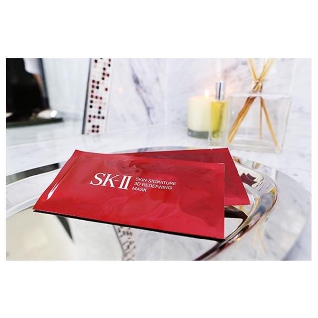 ?Mặt nạ xoá vết nhăn và nâng cơ mặt SK-II Skin Sugnature 3D Redefining