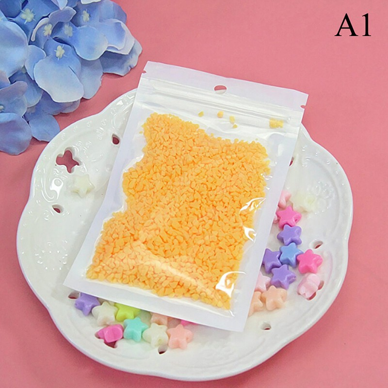 SUN55❤❤15g Chocolate slime clay for filler supplies candy dessert mud decoration