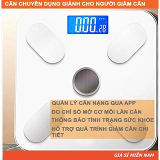 Cân Điện Tử Sức Khoẻ Thông Minh Digital Weight DW503 [Kết nối bluetooth đo lượng mỡ trong cơ thể]