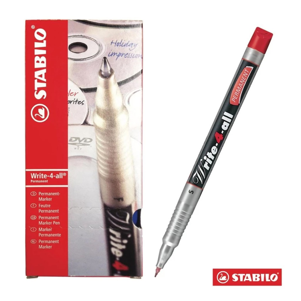 Hộp 10 cây bút kỹ thuật STABILO Write-4-all Permanent S (màu đỏ) - 9994663 , 276733966 , 322_276733966 , 407000 , Hop-10-cay-but-ky-thuat-STABILO-Write-4-all-Permanent-S-mau-do-322_276733966 , shopee.vn , Hộp 10 cây bút kỹ thuật STABILO Write-4-all Permanent S (màu đỏ)