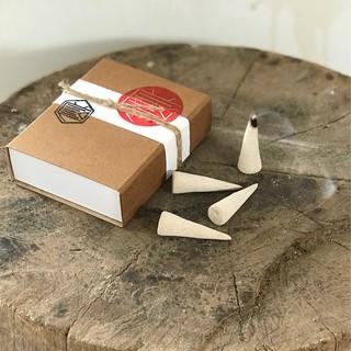 Nhang Pine ( hương Thông ) hộp 20 viên [ Handmade Incense Cones ]