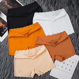 quần mặc váy vải su gợn sóng