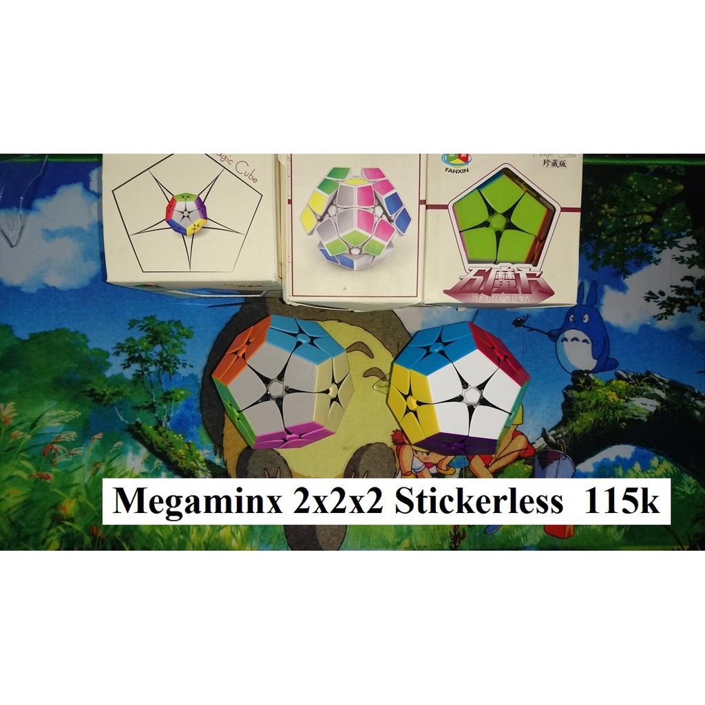 Megaminx 2x2x2 Stickerless Biến thể Rubik