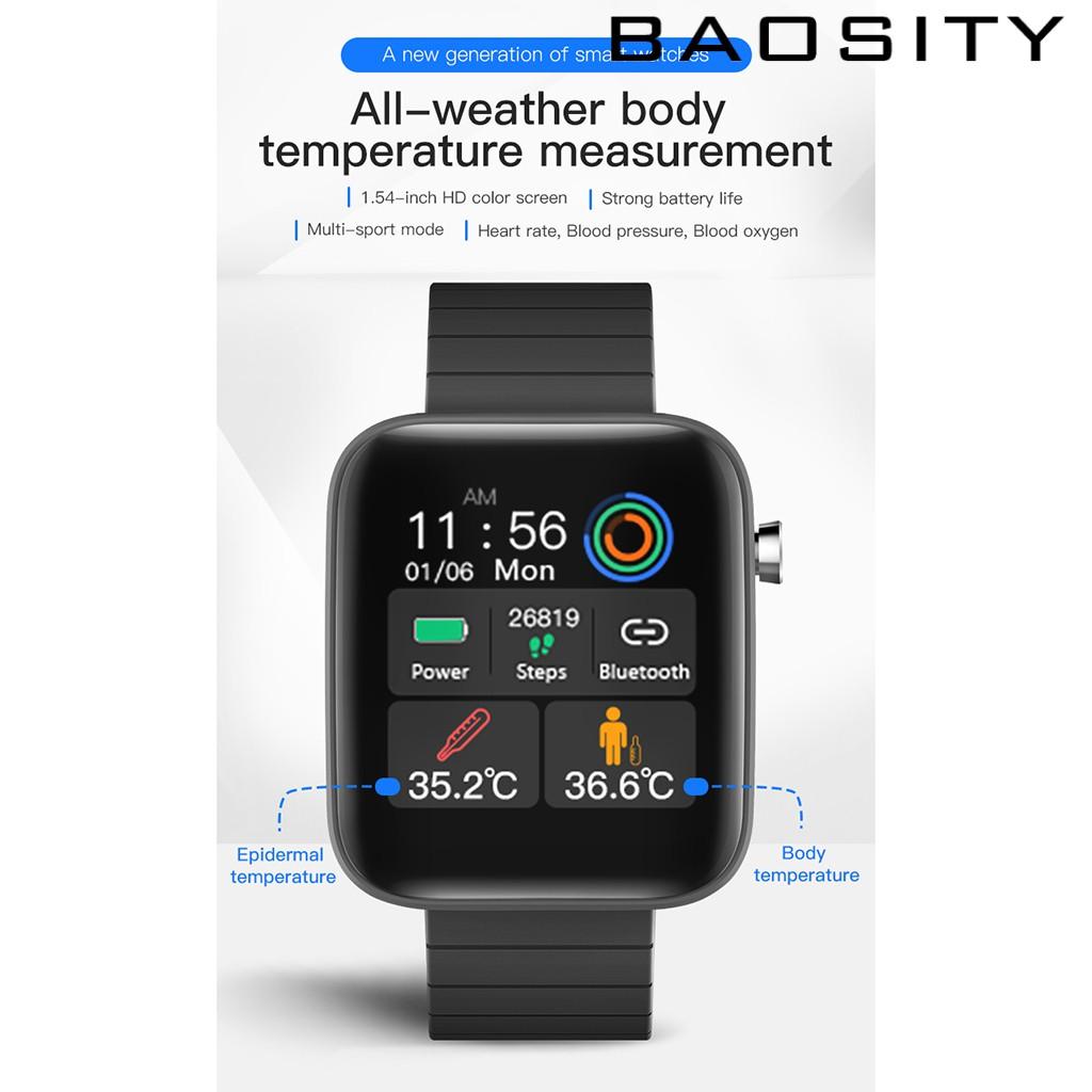 Vòng Đeo Tay Thông Minh T68 Kết Nối Bluetooth 5.0 Chống Nước Hỗ Trợ Theo Dõi Nhịp Tim
