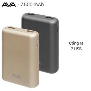 Pin sạc dự phòng 7500mAh AVA DS630 thumbnail