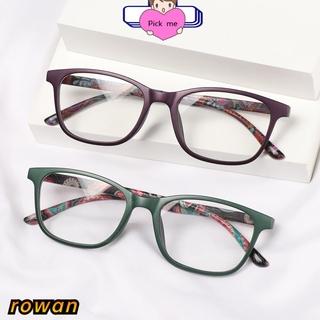 ROW Fashion Anti-blue Light Glasses Vision Care Computer Goggles Optical Eyewear Women Classic Retro Vintage Presbyopia Eyeglasses/Multicolor