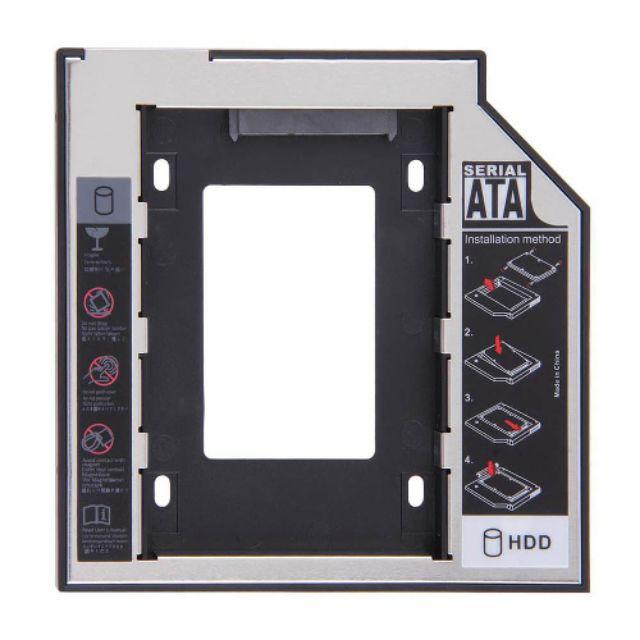 Bán Caddy Bay SATA 3.0 9.5mm,12.7 mm gắn thêm ổ cứng cho Laptop