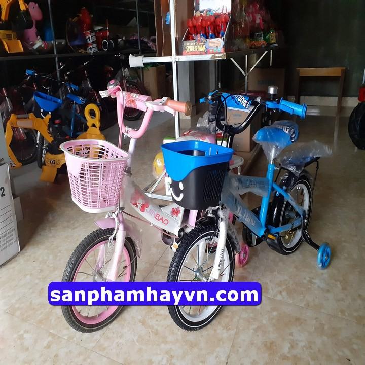 Xe đạp trẻ em 2 đến 5 tuổi size 12 và 14