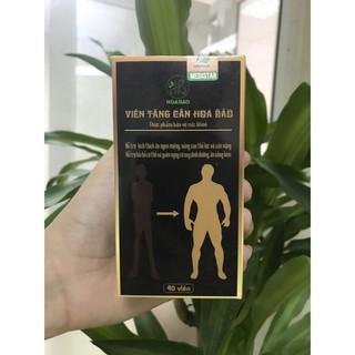 Viên tăng cân Hoa Bảo - Bồi bổ cơ thể - Cân nặng tăng tự nhiên ( Kèm Cẩm Nang Hoa Bảo ) thumbnail