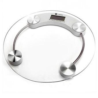 Cân sức khỏe điện tử max 180kg (Trong suốt)