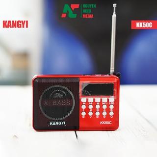 [Mã ELFLASH5 giảm 20K đơn 50K] Đài FM Nghe Nhạc Cắm USB, Thẻ Nhớ Dành Cho Người Già KangYi KK50C