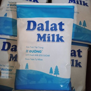 Sữa tươi ít đường 220ml của Đà lạt