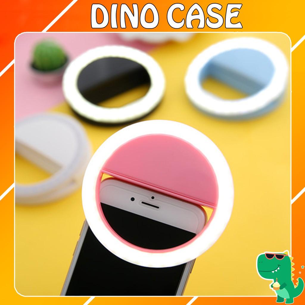 Đèn Selfie Ring light Cực sáng - Tặng kèm dây sạc - Dino Case