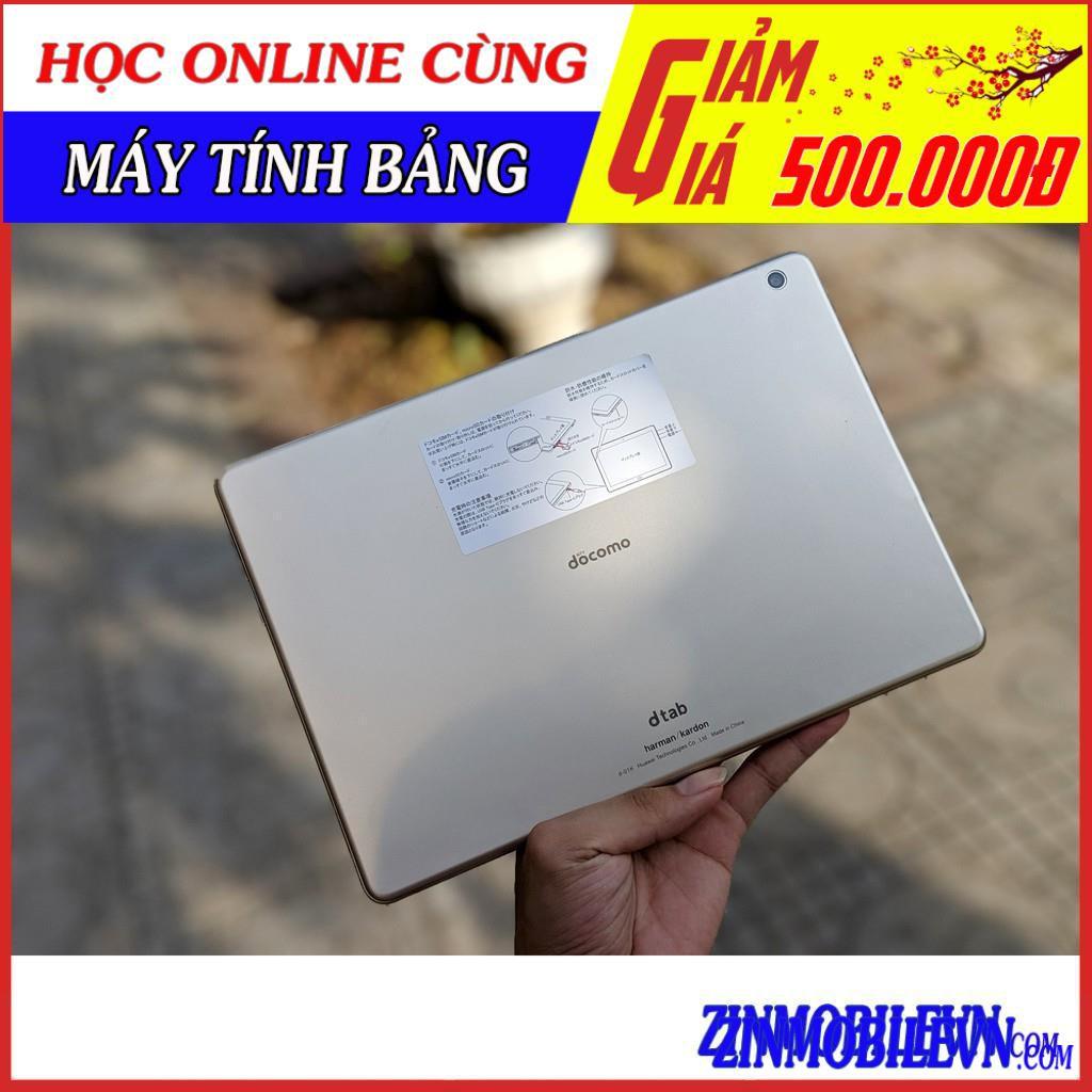 Máy tính bảng Huawei Honor WaterPlay (Dtab D01K) - Chống nước 10.1 inch FullHD+, 4 LOA Harman Kardon |tại Zin Mobile
