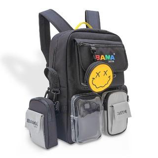 Hot Balo Bama 444 Backpack kèm túi tròn mini
