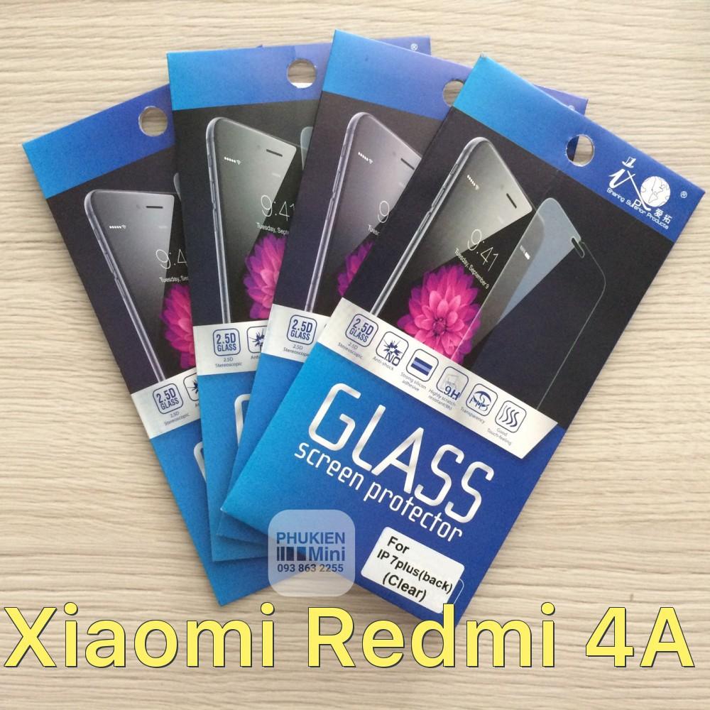 Dán cường lực 9H/2.5D cho Xiaomi Redmi 4A
