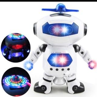Robot xoay 360• có nhạc