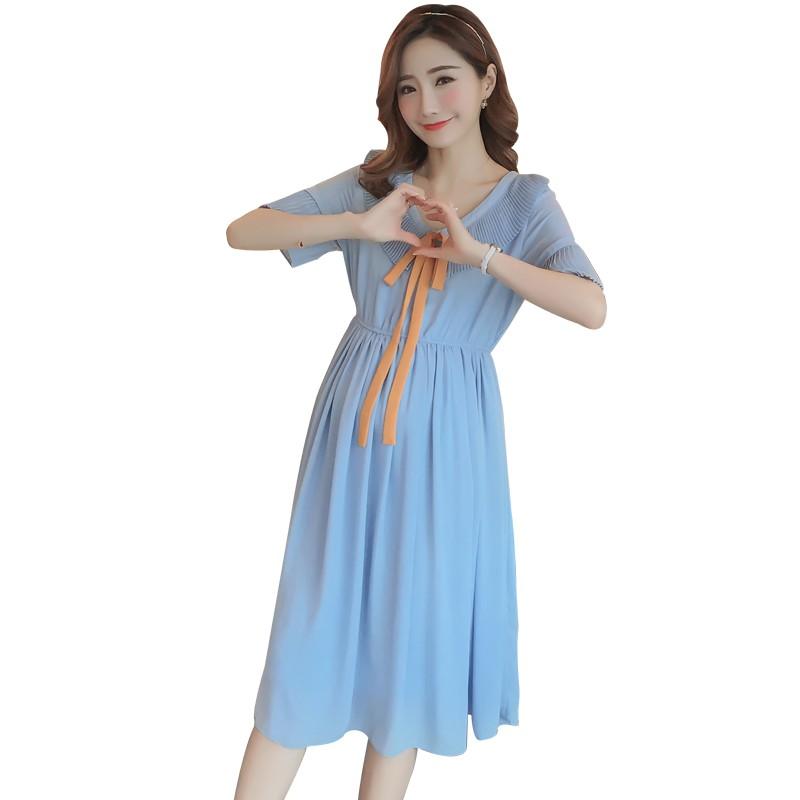 K331 váy bầu dáng dài màu xanh nữ tính, thời trang - 2472398 , 1111272060 , 322_1111272060 , 315000 , K331-vay-bau-dang-dai-mau-xanh-nu-tinh-thoi-trang-322_1111272060 , shopee.vn , K331 váy bầu dáng dài màu xanh nữ tính, thời trang