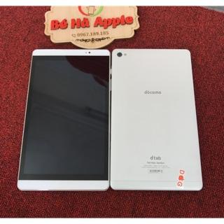 Máy Tính Bảng Huawei dtab Compact d-02H docomo Wifi 4G Zin Đẹp 99% Như Mới