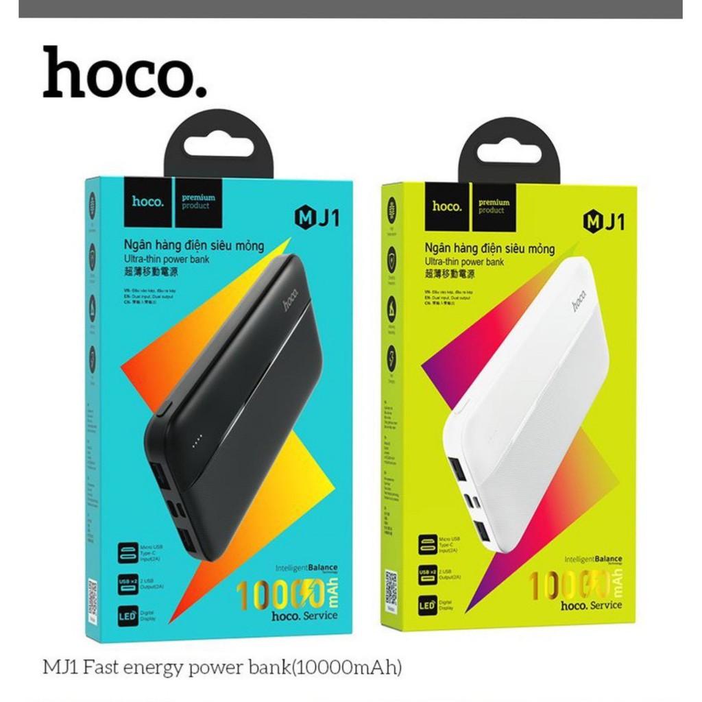Sạc dự phòng Hoco MJ1 / Hoco J48 / Lanex N22 10.000 mAh- hàng bảo hành chính hãng 12 tháng